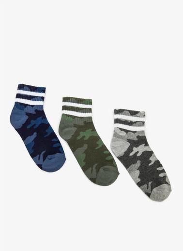 Koton 3'lü Çorap Renkli